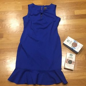 Taylor Midi Dress with Ruffle Hem